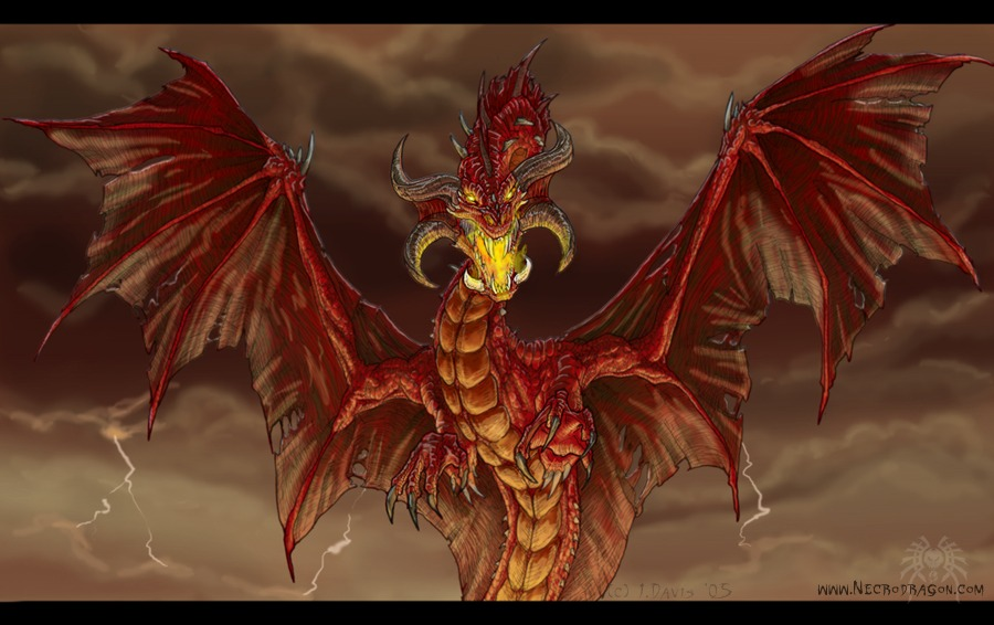 Red Fire Dragon: Drakhenliche