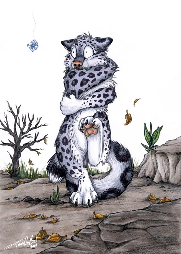 Anthro snow leopard male - photo#16