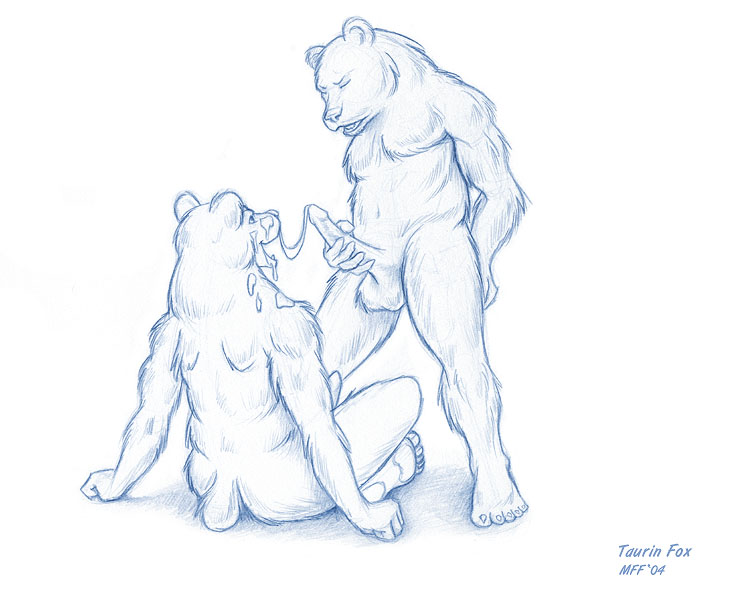 Here's another sketch I recently did for Ben Bear. This one was done at MFF ...